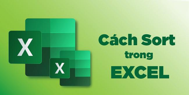 cách Sort trong Excel