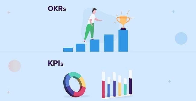 Sự khác biệt giữa OKRs và KPIs