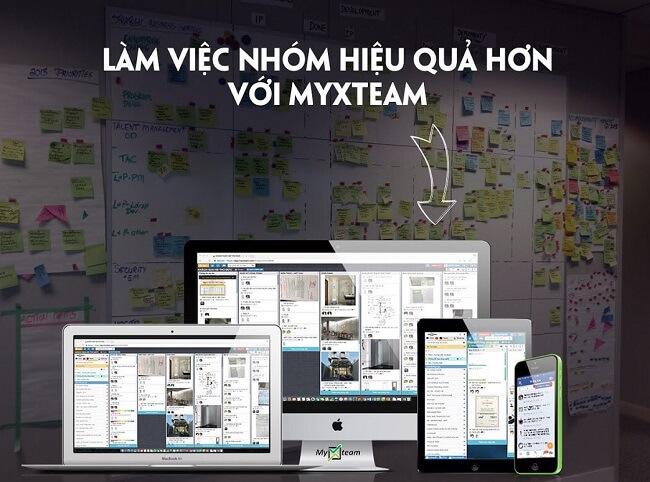 Lợi ích của MyXteam giúp làm việc nhóm hiệu quả hơn