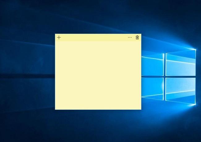 Cách note trên máy tính bằng Sticky Notes