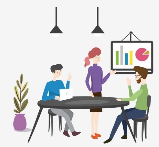 Chia sẻ ý tưởng của bạn khi làm việc nhóm