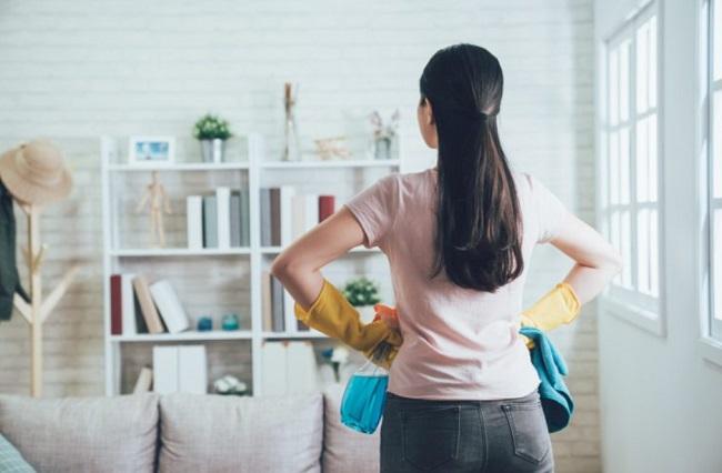 dọn dẹp nhà cửa giúp giảm cảm giác chán nản