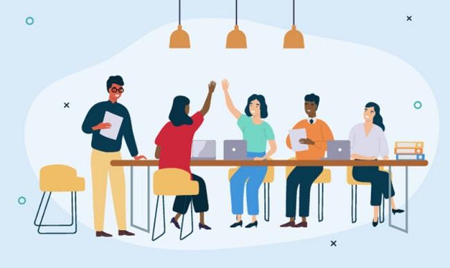 Giao tiếp hiệu quả là điều cần thiết khi làm việc nhóm