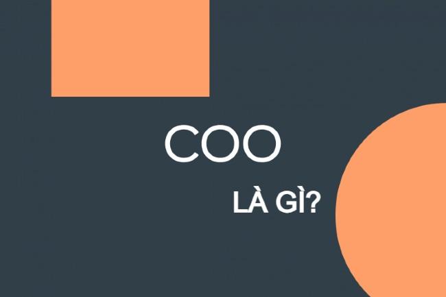 Khái niệm COO