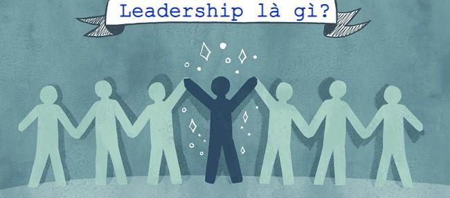 Khái niệm leadership