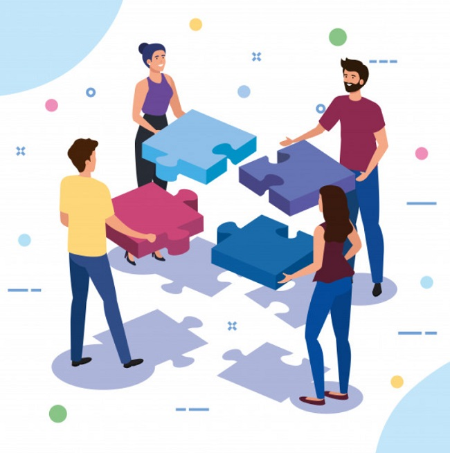 Làm việc nhóm giúp tăng tinh thần đồng đội gắn kết mọi người