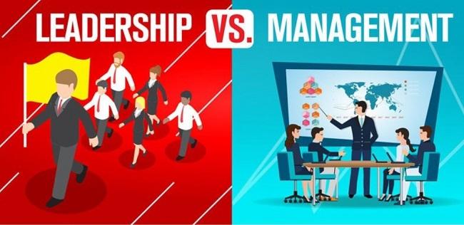 Phân biệt Leadership và Management