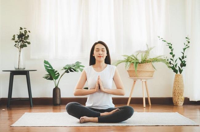 Tập yoga khi cảm thấy chán nản