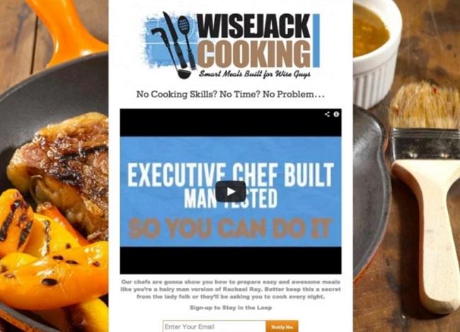 Trang Coming Soon của website WiseJack