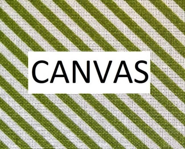 Vải canvas là gì