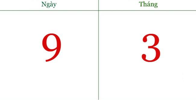 Ngày 9/3 là ngày gì
