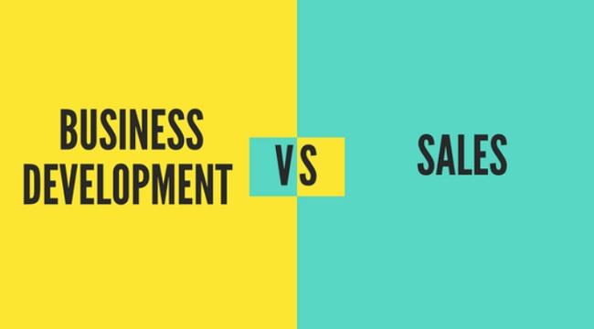 Sự khác biệt giữa Business Development và Sale